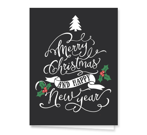 chalkart-Christmas card from Graphicsource