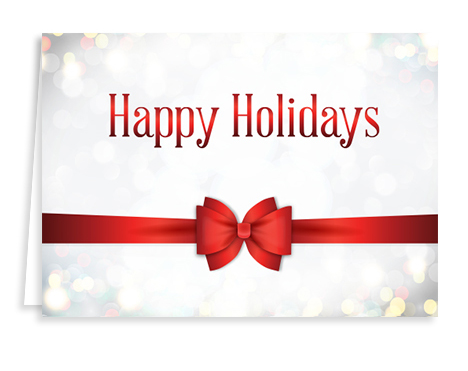 red-ribbon-holiday-card from Graphicsource