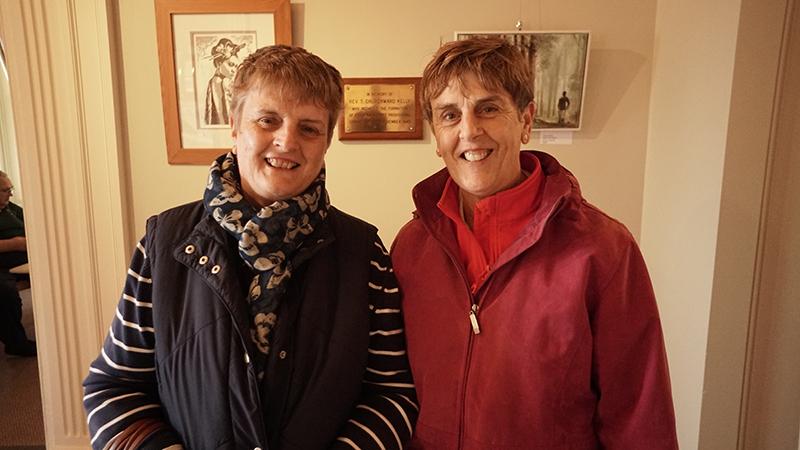 Judith DeJong, Claire Bendall.JPG