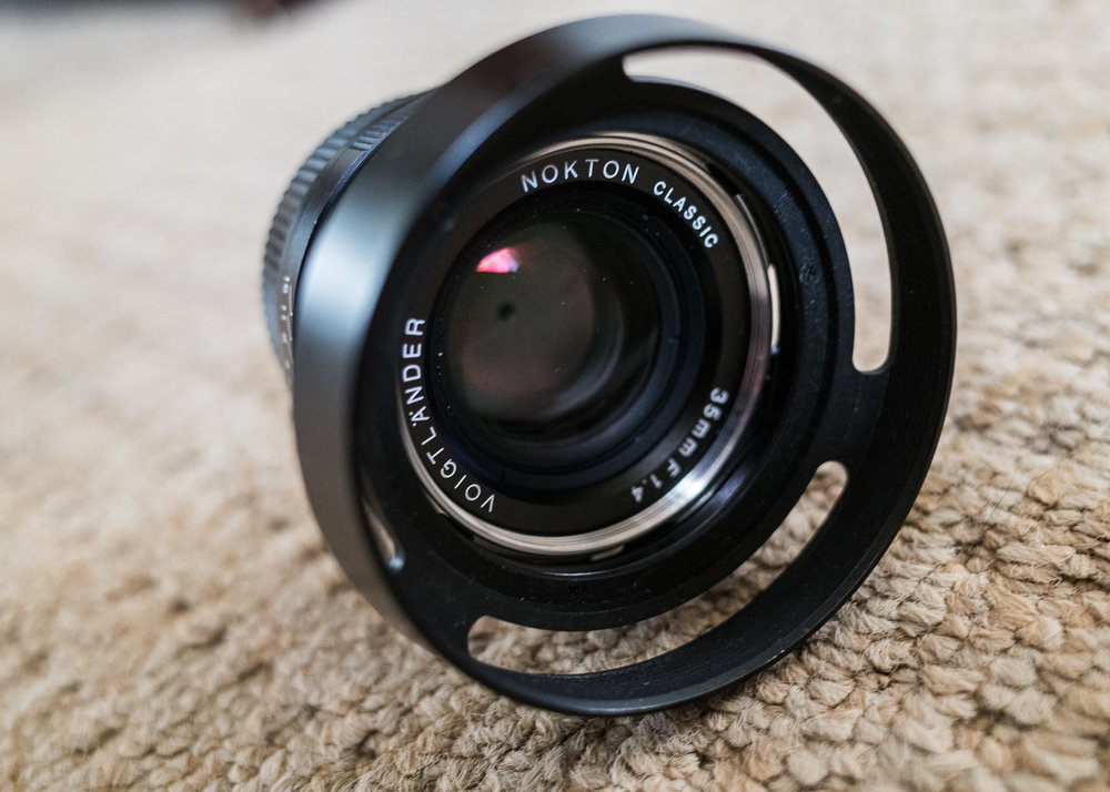 Featured: 35mm F1.4 Nokton, Voigtlander.