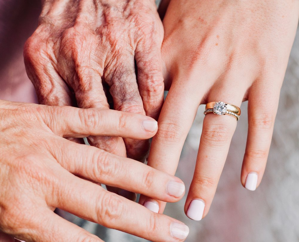 The hand-me-down ring — Grandbari