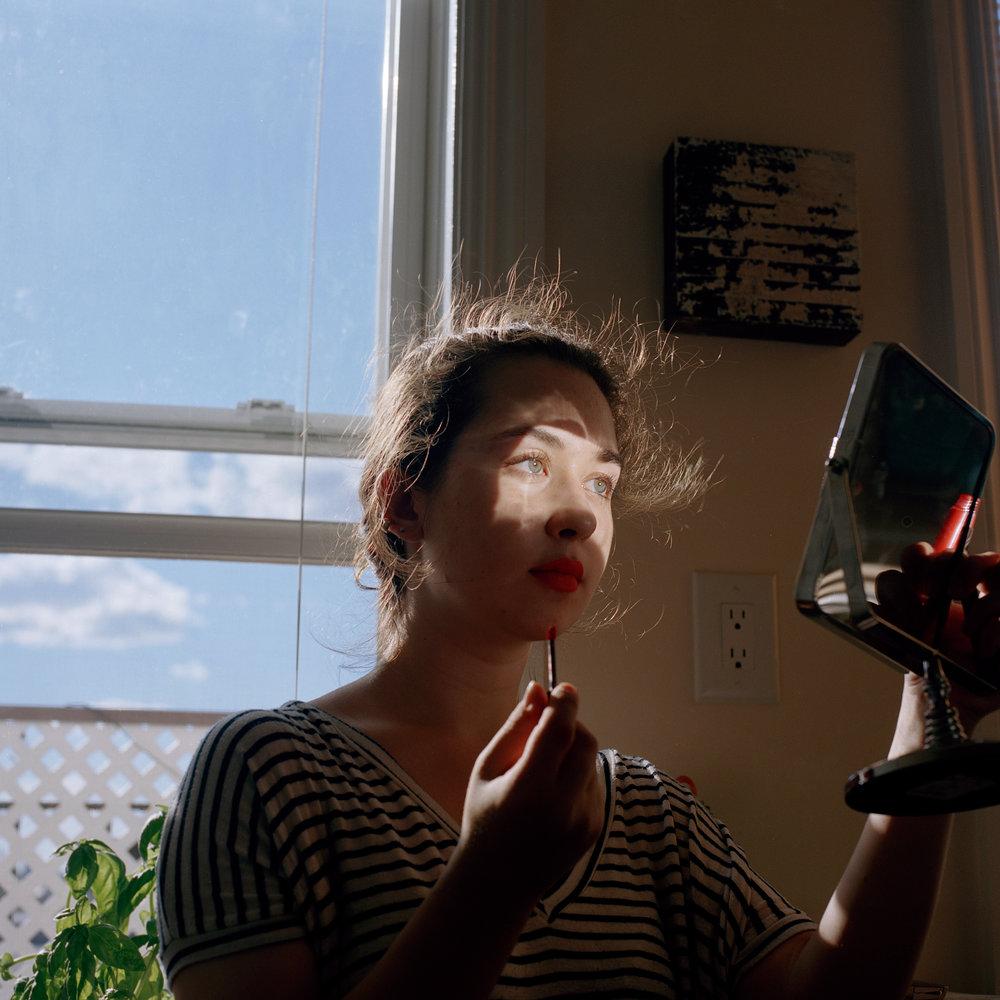 Tess Mayer. August 2015.