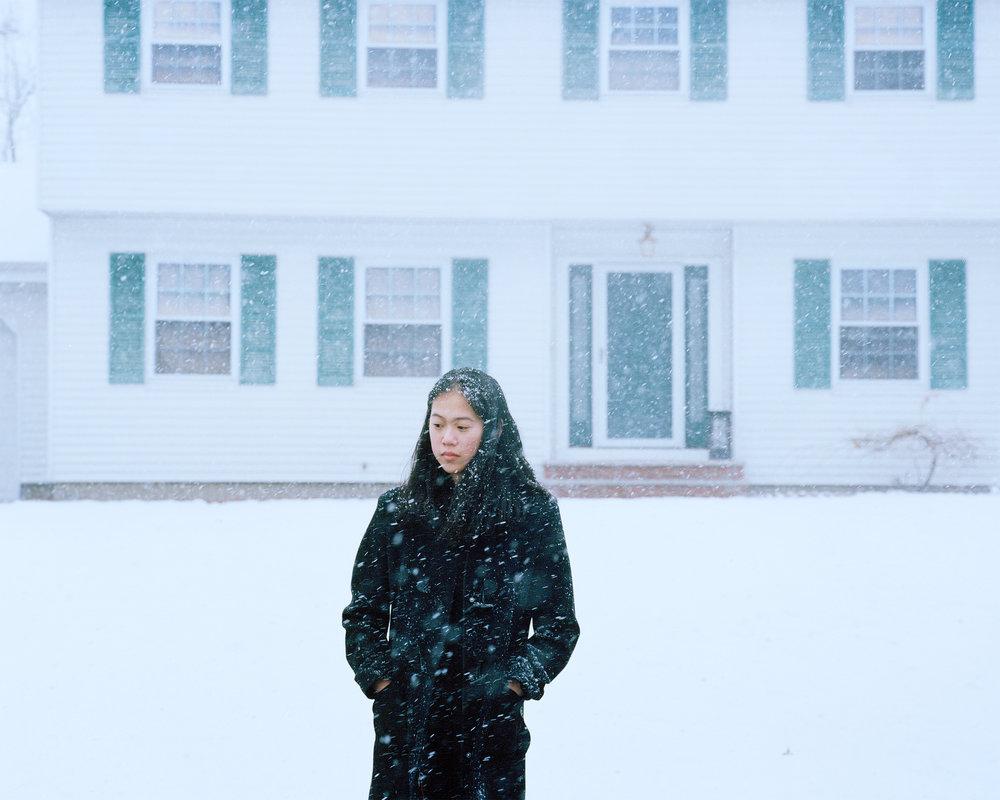 Megan, Home, NJ. 2014.