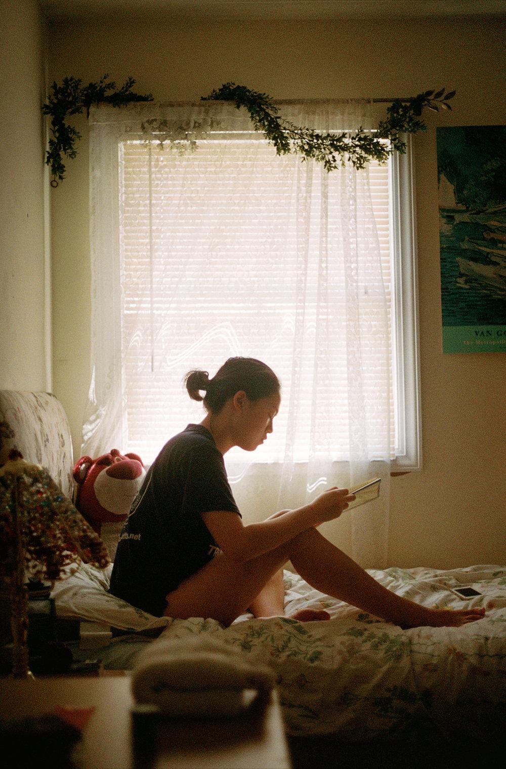 Megan Wang at Home. August 2017.