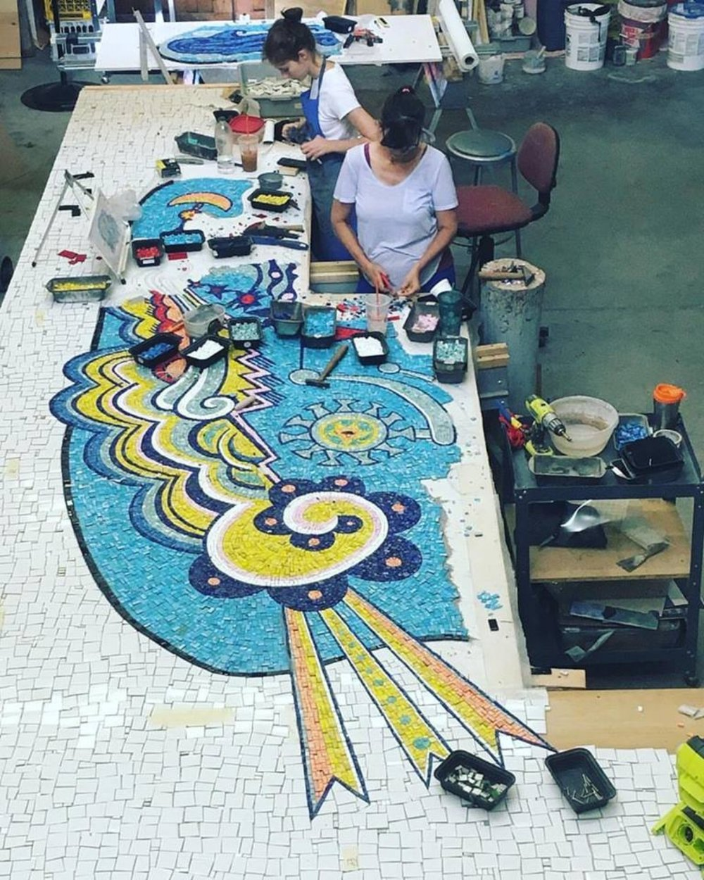 Image courtesy of Miotto Mosaics - Summer 2017