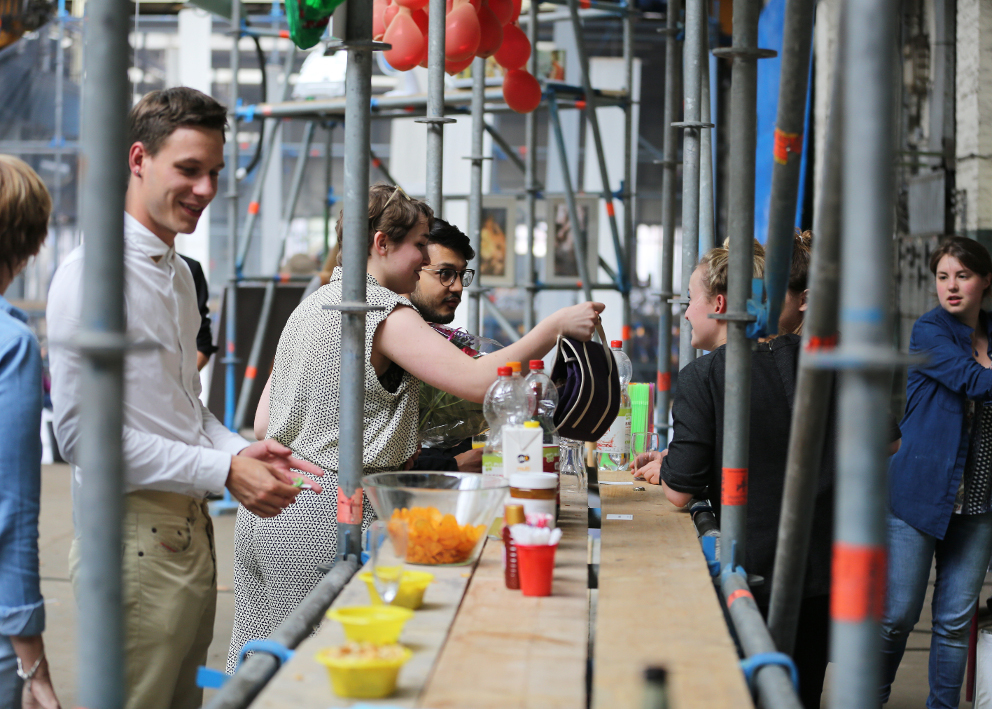 Hogeschool voor de kunsten Utrecht Make Space Trudy Hekman