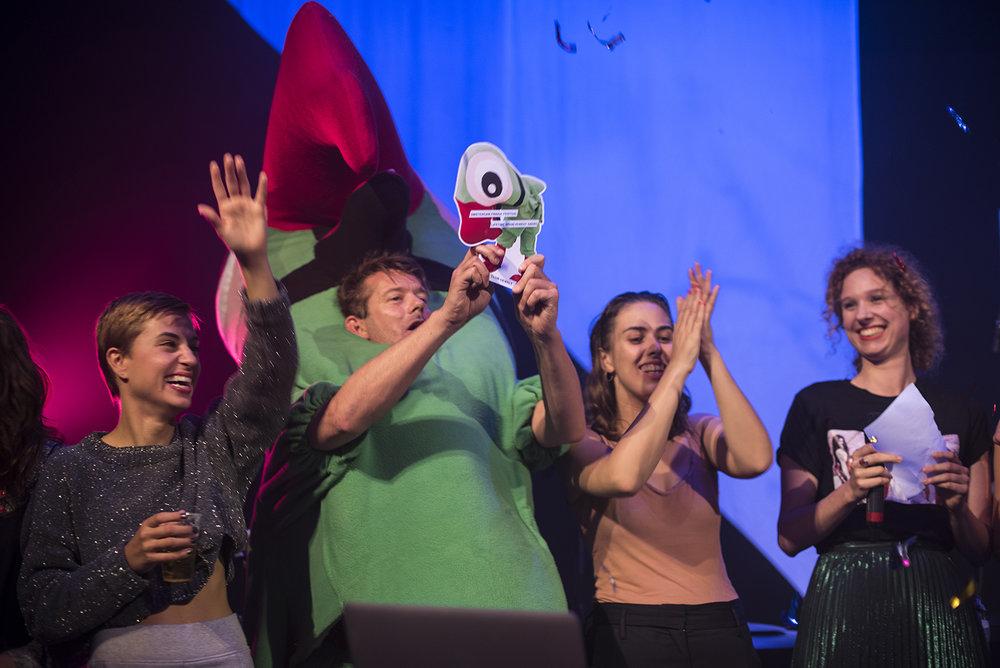 Amsterdam Fringe Festival Trudy Hekman foto Annelies Verhelst