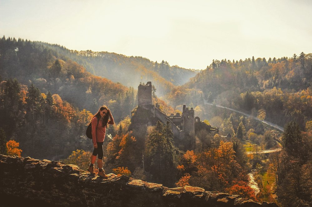 Manderscheid Castle, Rheinland-Pfalz, Germany Photo Credits: Nico Kirsch