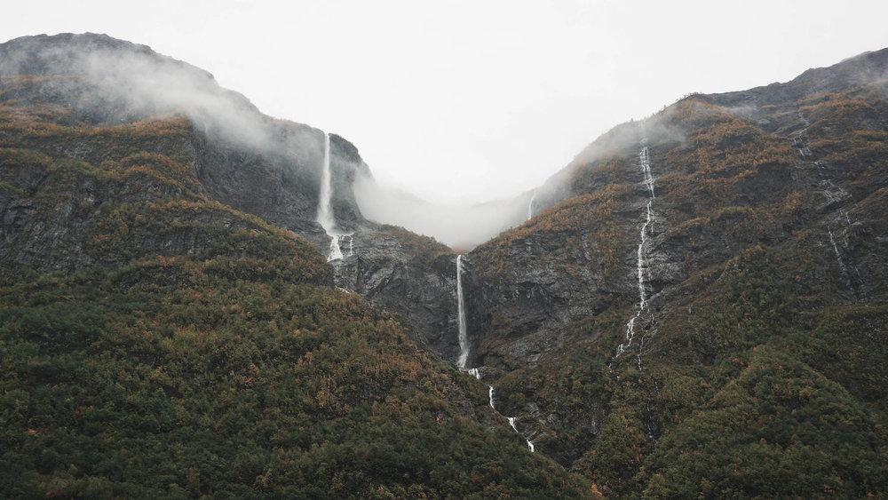 Gudvangen Waterfalls