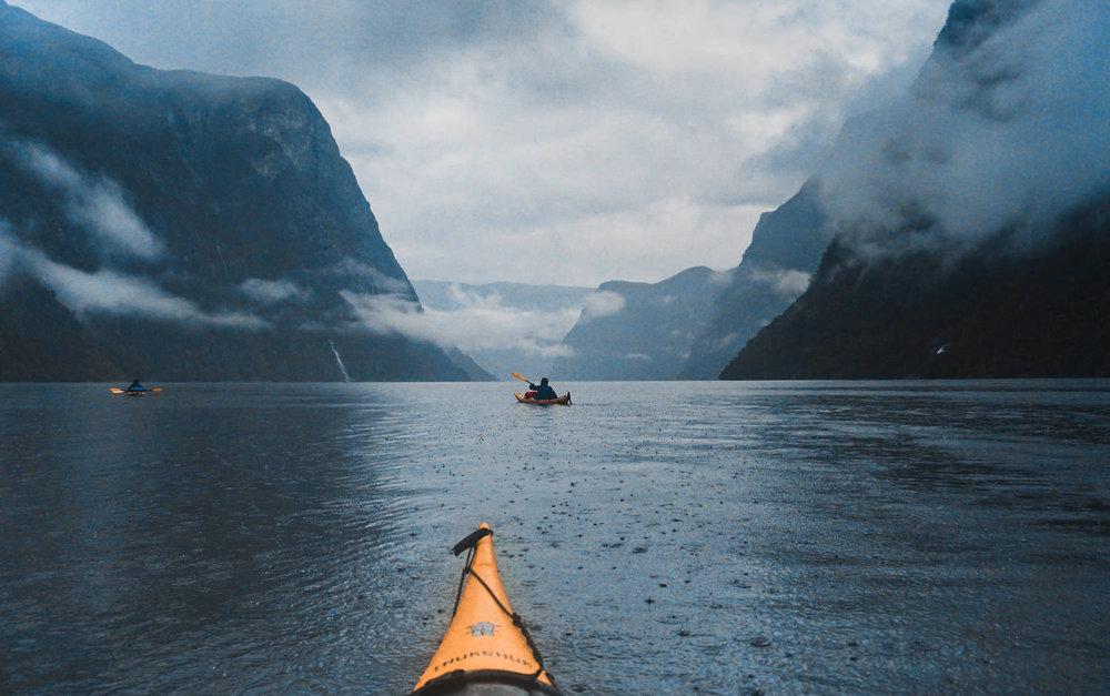 Naeroyfjord Kayak Dyrdal