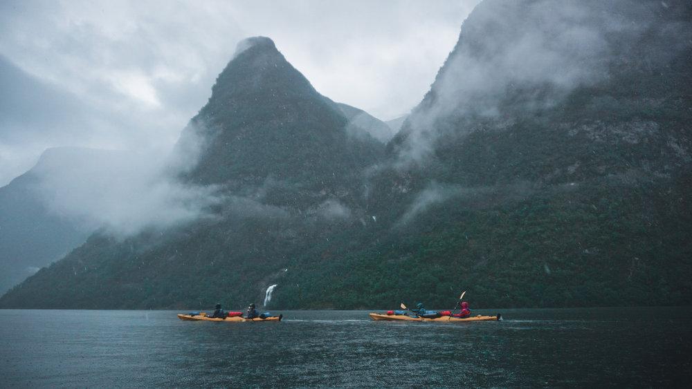 Naeroyfjord Dyrdal Kayak
