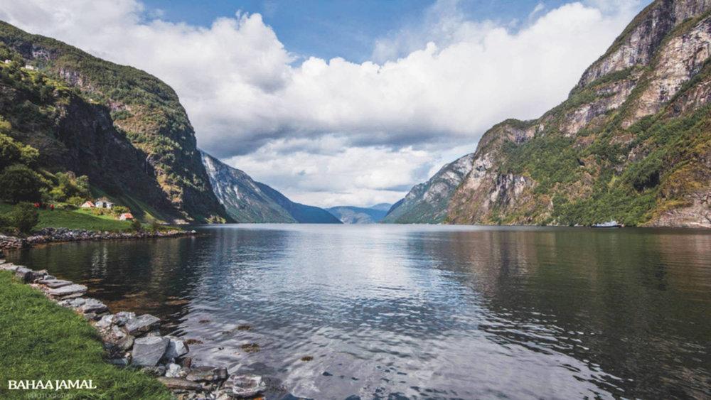 Aurland Fjord Stokko