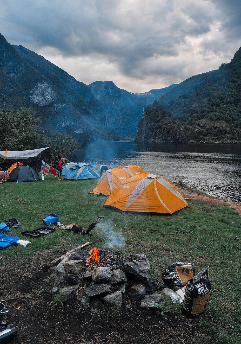 Naeroyfjord Skalmenes Camping