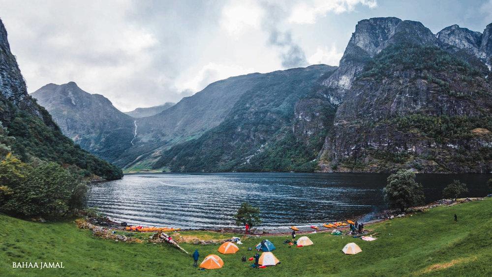 Naeroyfjord Camping Odnes