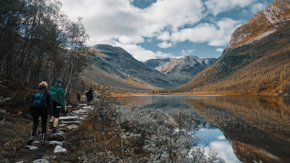 Breiskrednosi - Alpine Lake