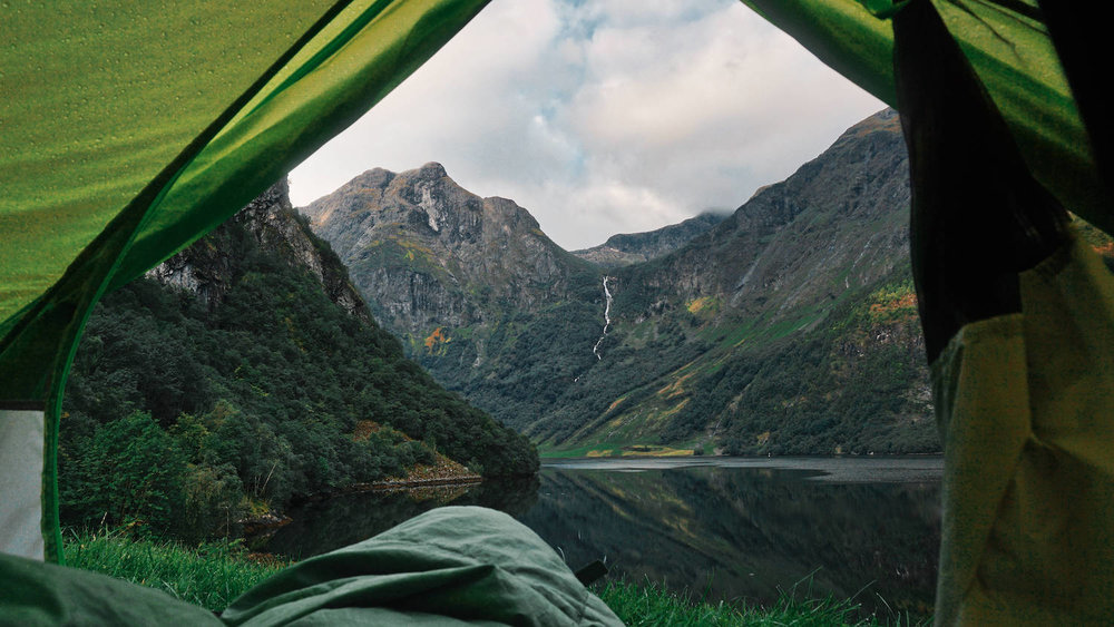 Naeroyfjord Odnes Camping Tent