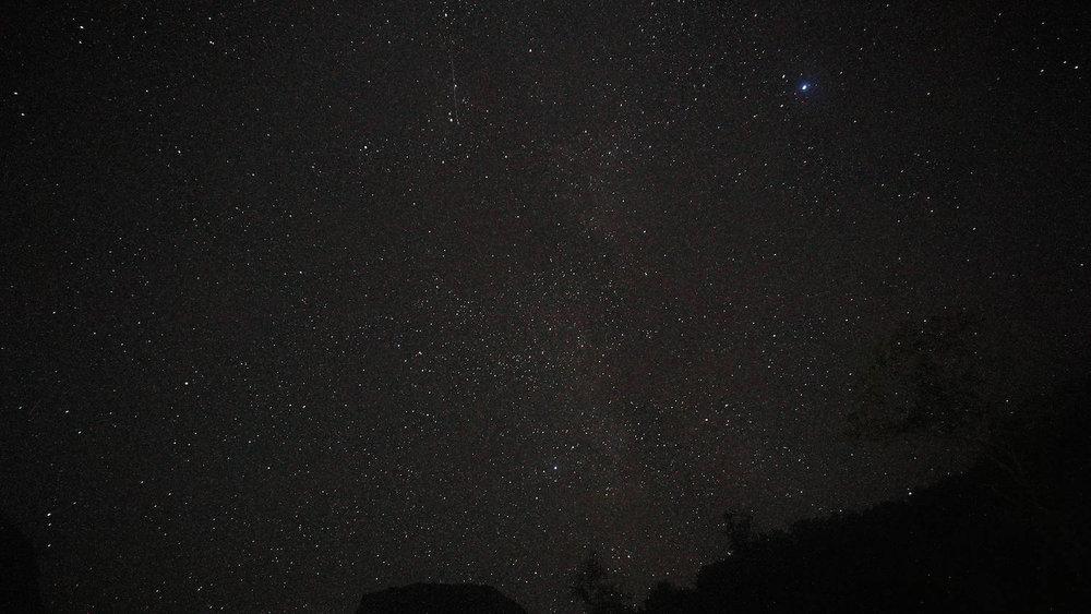Naeroyfjord Starry Night