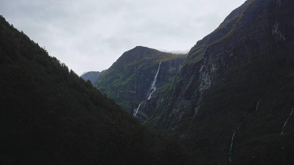 Road from Voss to Gudvangen