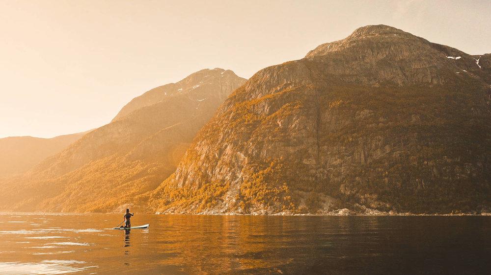 Eidfjord - JOBE SUP