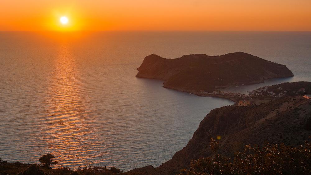 Assos - Sunset - Kefalonia
