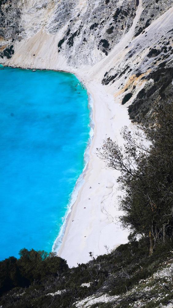Kefalonia Beaches - Blue Water - Greece