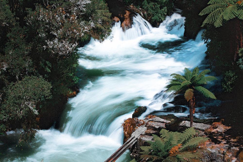 Rotorua - Okere Falls - NZ