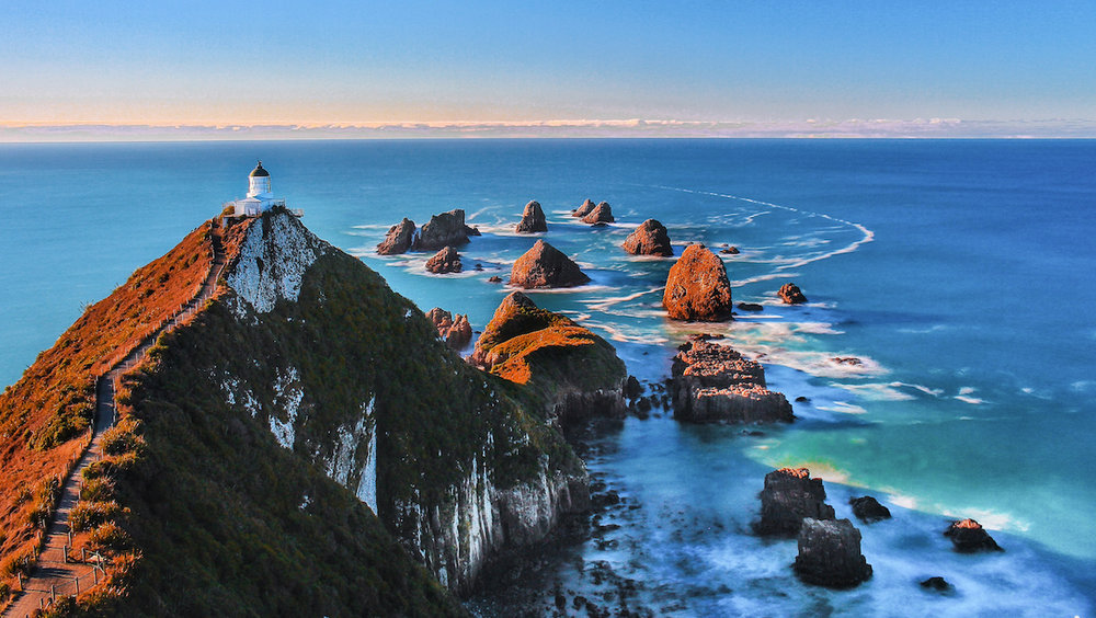 Nugget Point - Lighthouse - Catlins - NZ