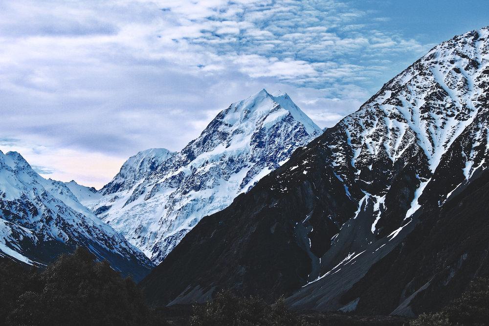 Mount Cook National Park - mountains - NZ