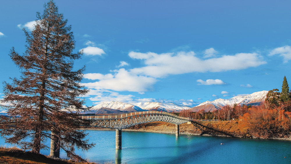 Tekapo - Lake - Bridge - NZ
