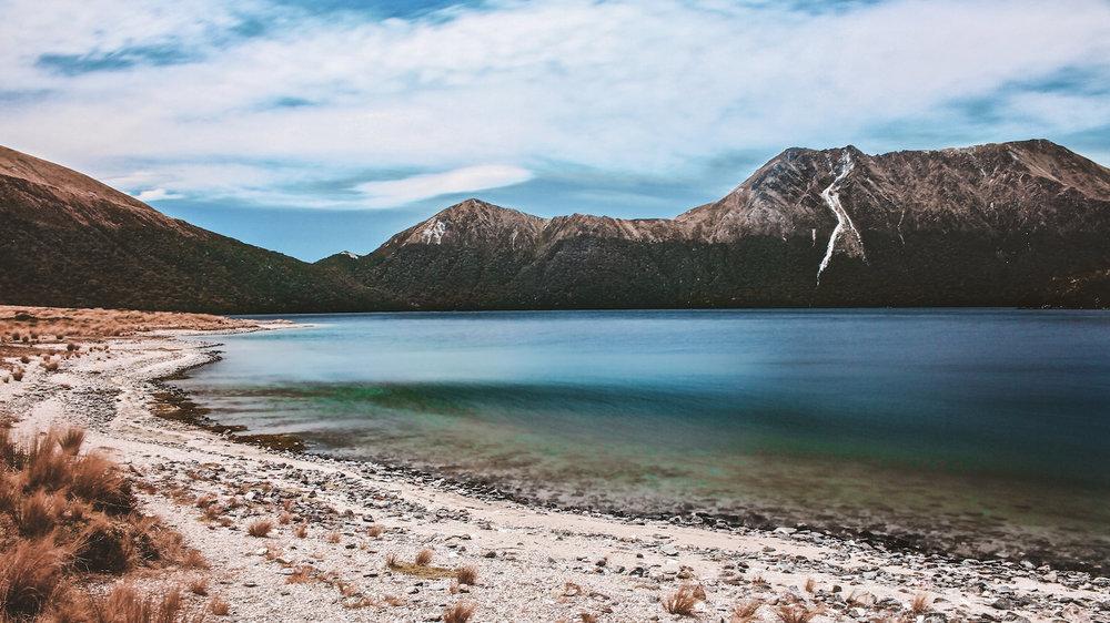 Green Lake - Fiordland National Park - Lake - Mountains - NZ