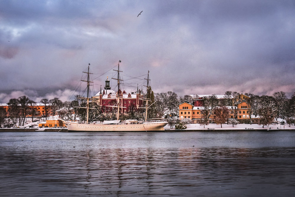 Djurgarden Ferry, Skansen - Stockholm, Sweden