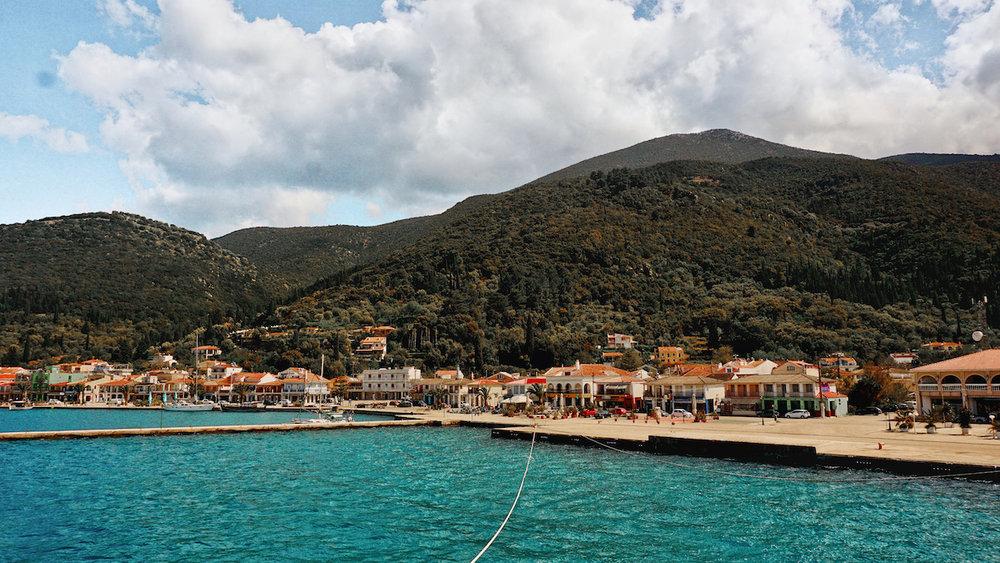Sami Ferry Port - Kefalonia, Greece