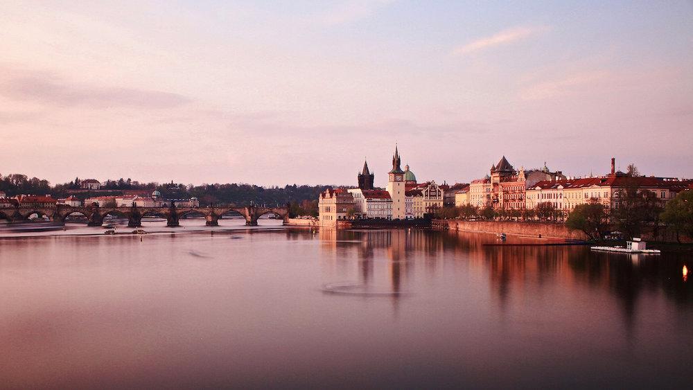 Prague Sunset - Praha, Czech Republic