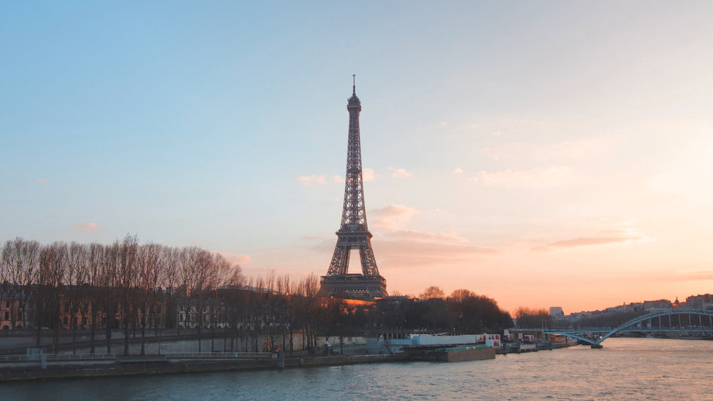 Eiffel Tower - La Tour Eiffel - Paris, France