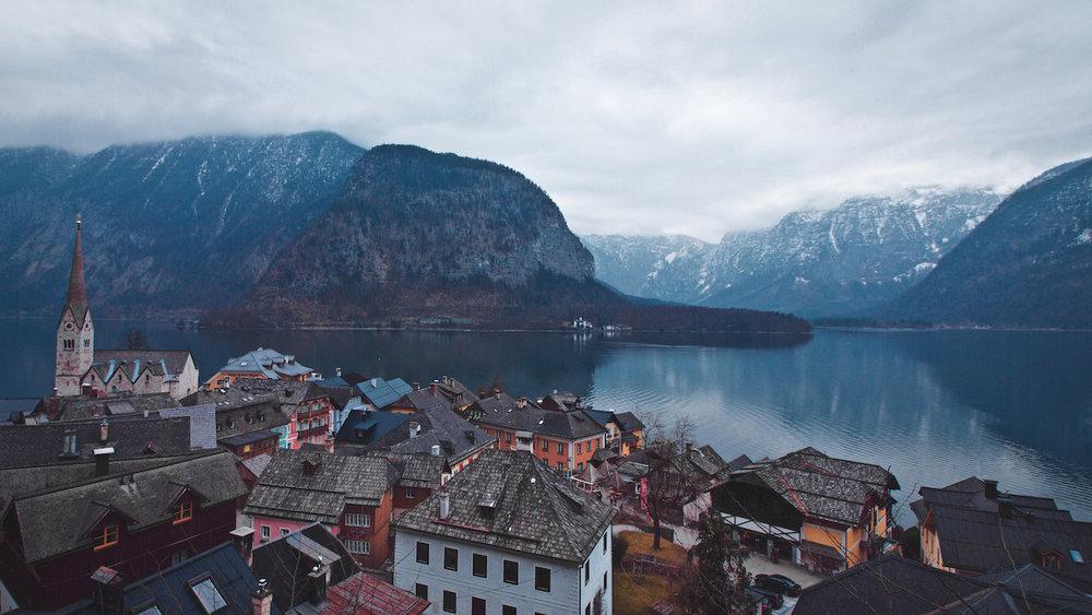 Hallstätter See - Hallstatt - Obertraun, Austria