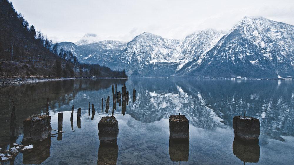 Hallstätter See - Lake Hallstatt - Obertraun, Austria