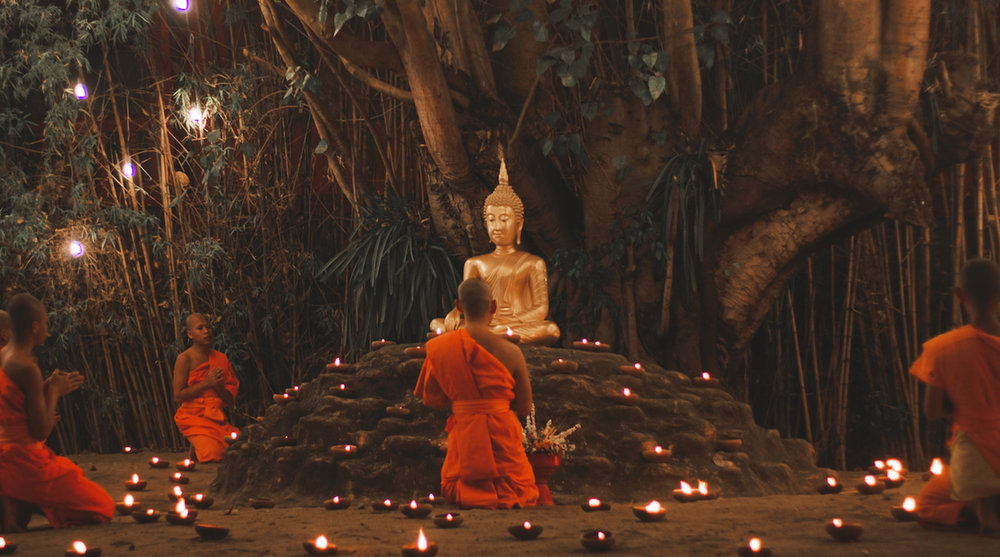 Buddhist Ceremony - Chiang Mai