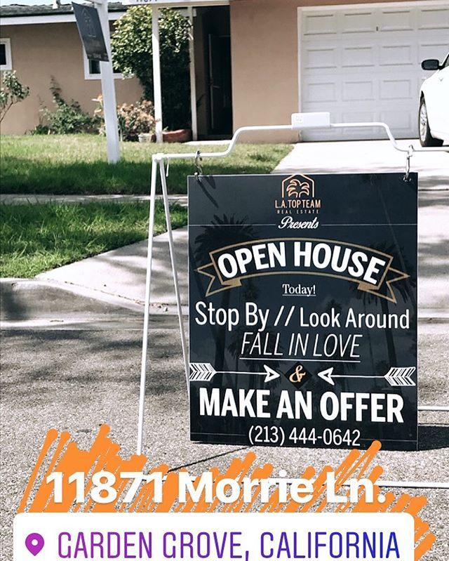 Open for the next couple hours! North OC come check out our new listing. AGENTS: access anytime via Supra. #orangecountyrealestate