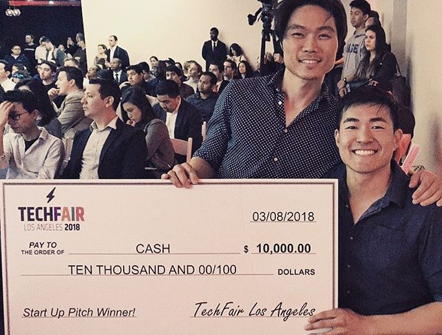 Congratulations to our first podcast sponsor @neurogum on WINNING the 2018 Tech Fair start up pitch contest.  Cold hard cash, boys!! Well deserved, can't wait to see how you put it to use.  Thank you for the support since day 1; we are honored to team up with local companies such as yourself.  I got a really big team...we got some really big rings.