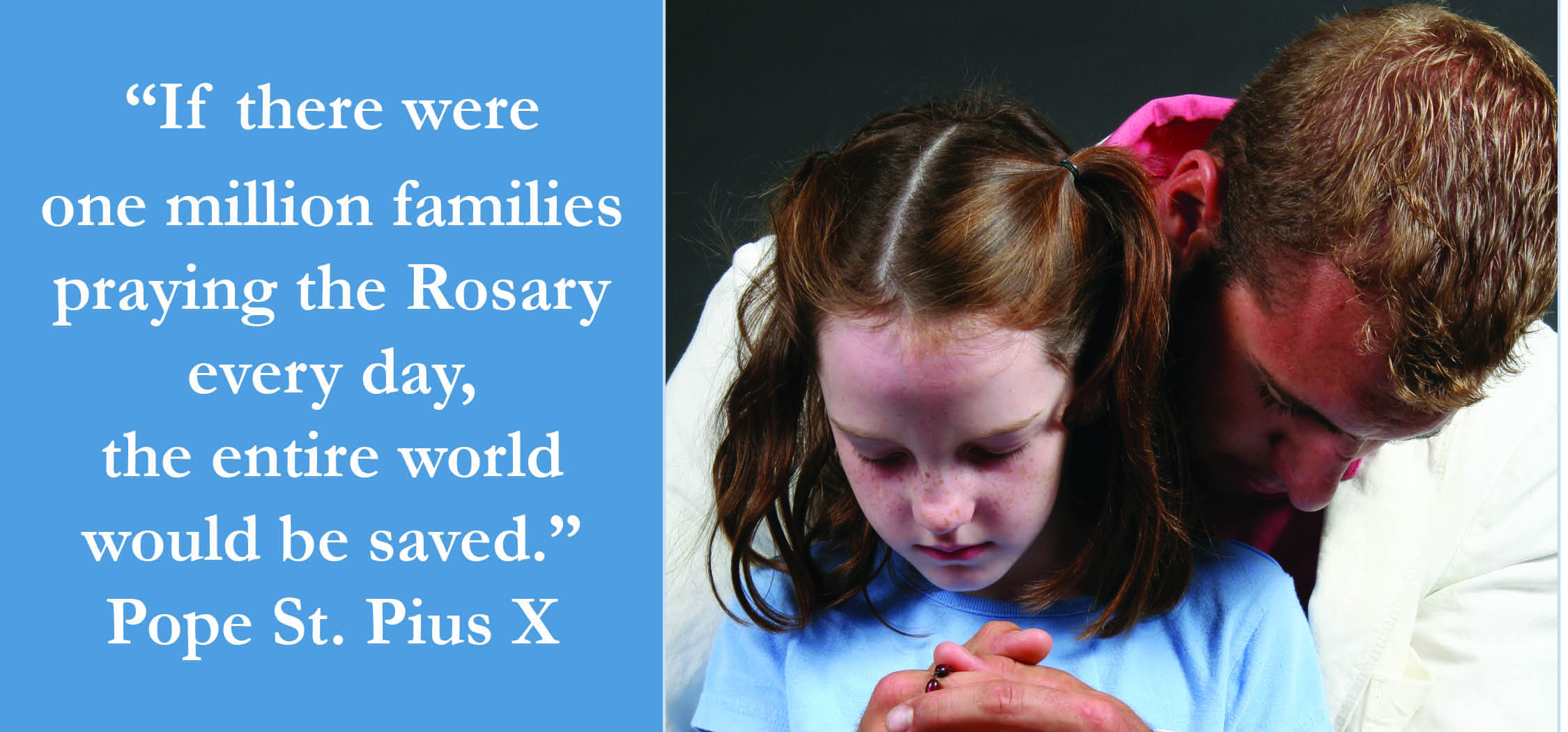 family praying the rosary - 1000×467