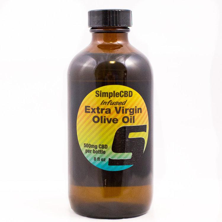 Hemp Extra Virgin Olive Oil