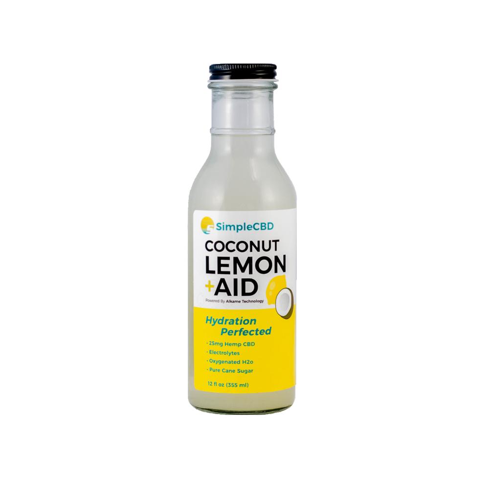 Case of 12 Coconut Lemon Aid