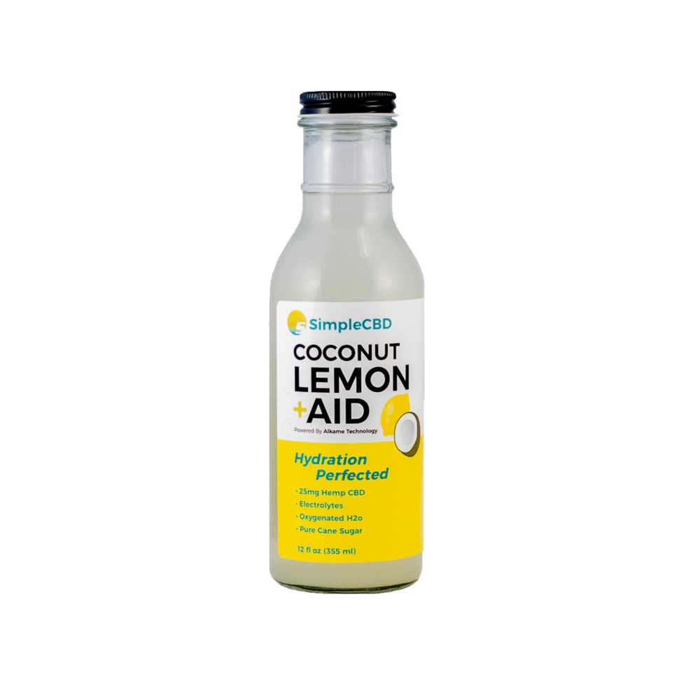 Pack of 4 Coconut Lemon Aid