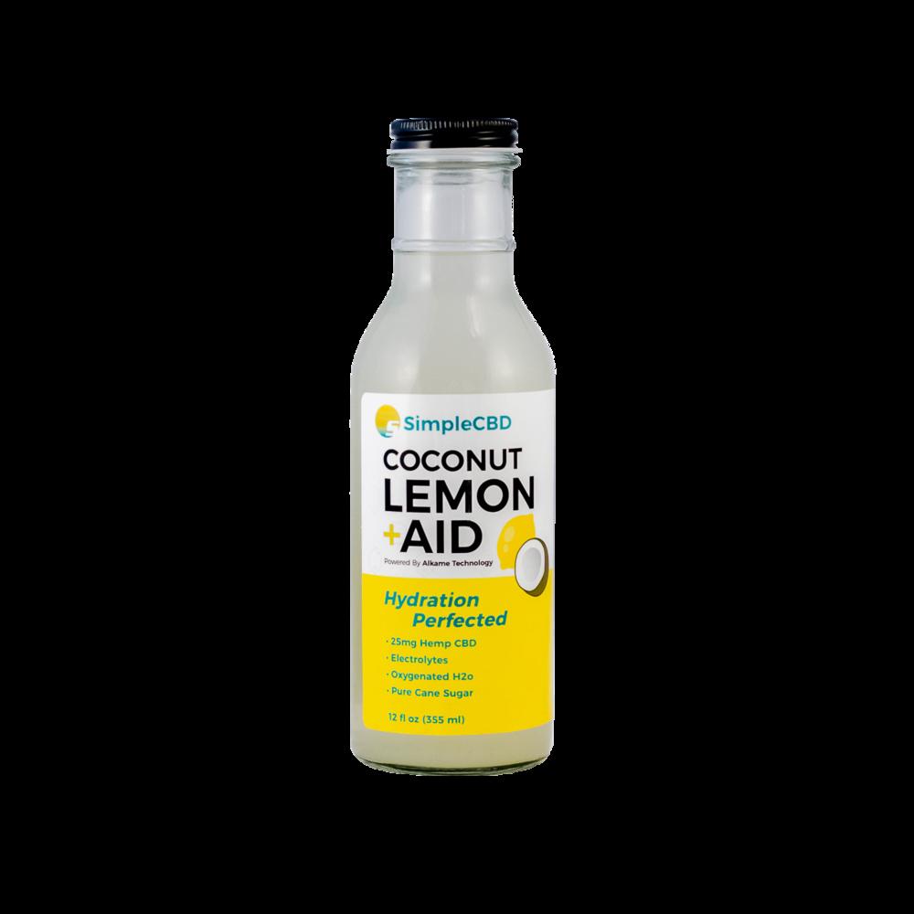 Pack of 4 Coconut Lemon Aid