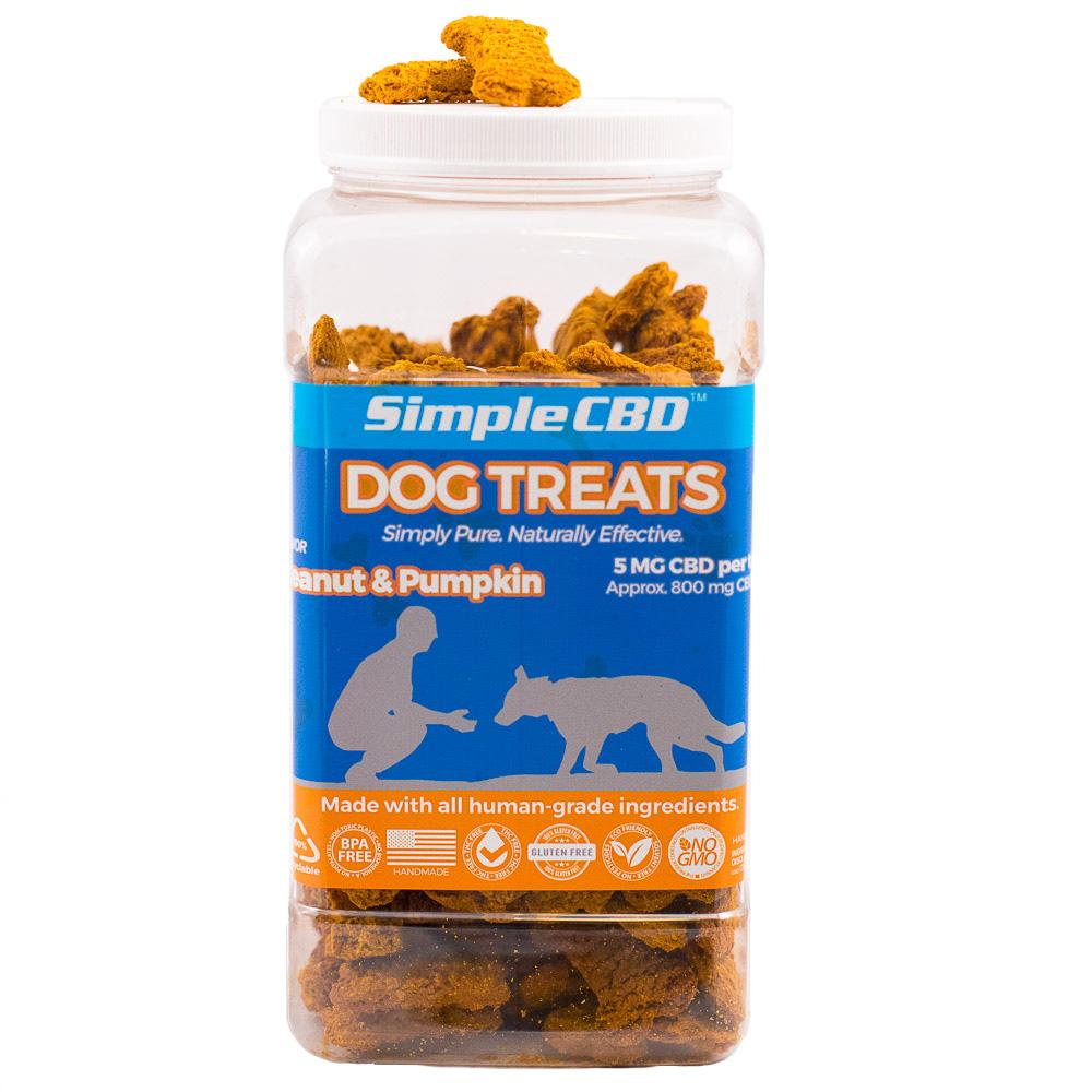 2 Pound Tub Dog Treats
