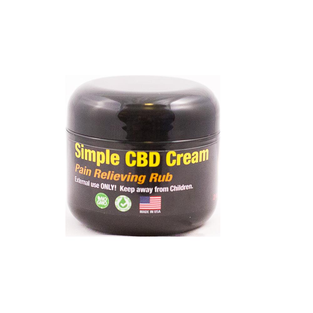 Simple CBD Cream
