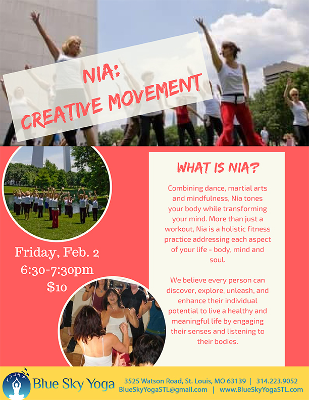 Nia: Creative Movement