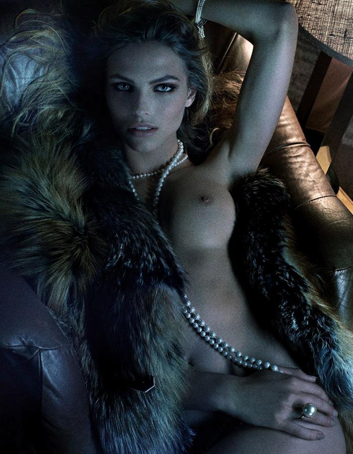 Constance Jablonski by Fabien Baron