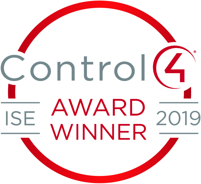 Control4 Awards 2019  Winner - Best Single Room Solution EMEA