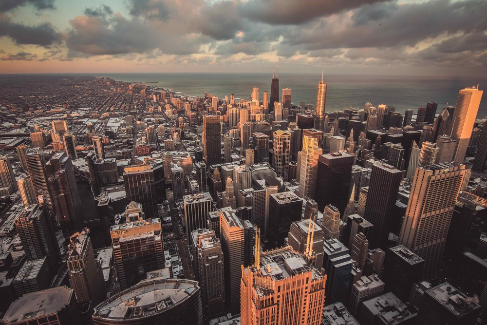 Chicago is at the center of the global logistics industry. See yourself here. -